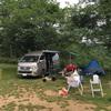 大雨キャンプ@成田ゆめ牧場
