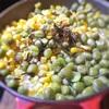トウモロコシと豆の炊き込みご飯