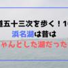 【東海道五十三次を歩く!10日目】浜名湖は昔はちゃんとした湖だった!