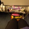 ANA搭乗記(機内食とかシートとか)