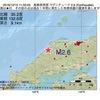 2016年12月10日 11時33分 島根県西部でM2.6の地震