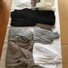 少ない服で暮らす ちょっと早いけど秋冬の服の全部出し