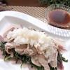 春菊と玉ねぎの豚しゃぶサラダ 【#豚肉 #春菊 #豚しゃぶ #レシピ #簡単 #大根】
