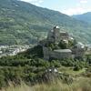 スイスの町シオン観光*丘の上の廃城トゥルビヨン城(Valere Basilica)へ!