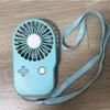 マスクで苦しい「携帯小型扇風機(スマートモバイルファン)」買ってみました。
