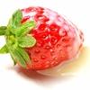 最近お気に入りのおやつは苺味の… 「 ○。○ ○。○ 」