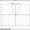 二次関数 (2次関数) y = x^2等、複数のグラフを一度の実行で出力する (Python 3,  matplotlib, NumPy)