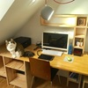 パソコン作業用の机を作りました