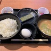 10/8朝食・談合坂サービスエリア フードコート(上野原市)