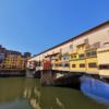【フィレンツェ観光】フィレンツェ最古・大戦を生き延びたヴェッキオ橋とその周辺を観光。