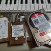 HDDを処分(のはずが)