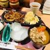 ろまん亭の生姜焼き定食