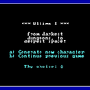 Ultima I the First Age of Darkness プレイ記 その0
