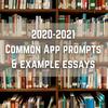 2020-2021 一般的なアプリケーションのプロンプトとエッセイの例