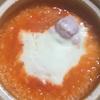 【手抜き料理】にんじんジュースdeリゾット
