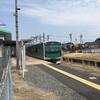 烏山駅でEV-E301系電車が充電してた