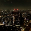 都庁の展望室から眺める東京の夜景がものすごく綺麗なのでオススメ!