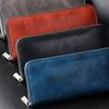 キップレザーを表裏にし使用した3つの財布