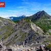 【南アルプス】間ノ岳、北岳から行く南アルプスの中心、岩と花の絶景稜線を歩く旅