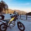 林道星竹線はフラットで走りやすい!景色も綺麗だ!トリッカー林道