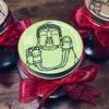 敬老の日のプレゼント🍀大仏プリンの瓶にお菓子を詰めて~手から手へ~