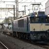 貨物列車撮影 4/4 「夕練始め」は原色の鹿島貨物で