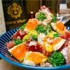 【レシピ】生ハムとブロッコリーのシーザーサラダ