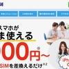 『BIGLOBE』(SIMフリー)のエンタメフリーなら月額480円でyoutubeが見放題。