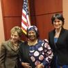 マラウイ元大統領ジョイスパンダ女史がアメリカ ワシントンD.C.議会で演説