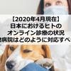 【2020年4月現在】日本におけるヒトのオンライン診療の状況~動物病院はどのように対応すべきか~