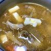 気温が下がり、牛肉の芋煮が食べたくなった