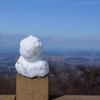 筑波山で冬山ハイク