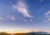 美ヶ原高原で薄明星景
