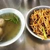 苗栗美味しい炒麺! 阿蘭姊水晶餃店