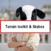 【Unity】地形にはTerrain toolkit、空はSkyboxがおすすめ!