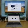 MacBook Pro 13 2017と フィリップス モニタ258B6QUEB/11
