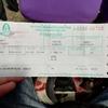 チェンマイからバンコクでの電車で旅人気分
