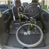 三菱の軽自動車「eKクロス」にロードバイクを車載して車中泊できるのか?実際に載せて試してみました!🚴♀️