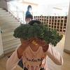 やまびこ:ブロッコリーの収穫
