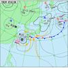 2017 台風18号 - 9/16 15時時点での構造