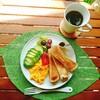 【週末ブランチ・ラテアート】トーストのお洒落な盛り付け方とくまのラテアート