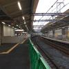 おおさか東線北区間工事鴫野駅部分の状況 2018-11-17