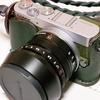 Tom Wat 革木堂さんに『Panasonic GM5』私だけのカメラケースを作ってもらいました。