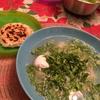 ArepaとCaldoコロンビア料理