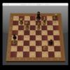 MacOSXに付属のチェスで初めて勝ったよ!