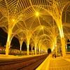 ポルトガルがおしゃれ過ぎる!リスボン・オリエンテ駅の夜の1枚