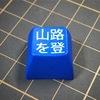 染色とレーザー加工機を用いた文字彫刻(の実験)