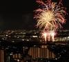打ち上げ花火、横から見ました。【第69回猪名川花火大会参加レポート】