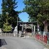 守田迺神社と遊水池?