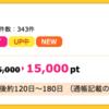 【ハピタス】 SBI FXトレードが3日間期間限定15,000pt(13,500マイル)!!